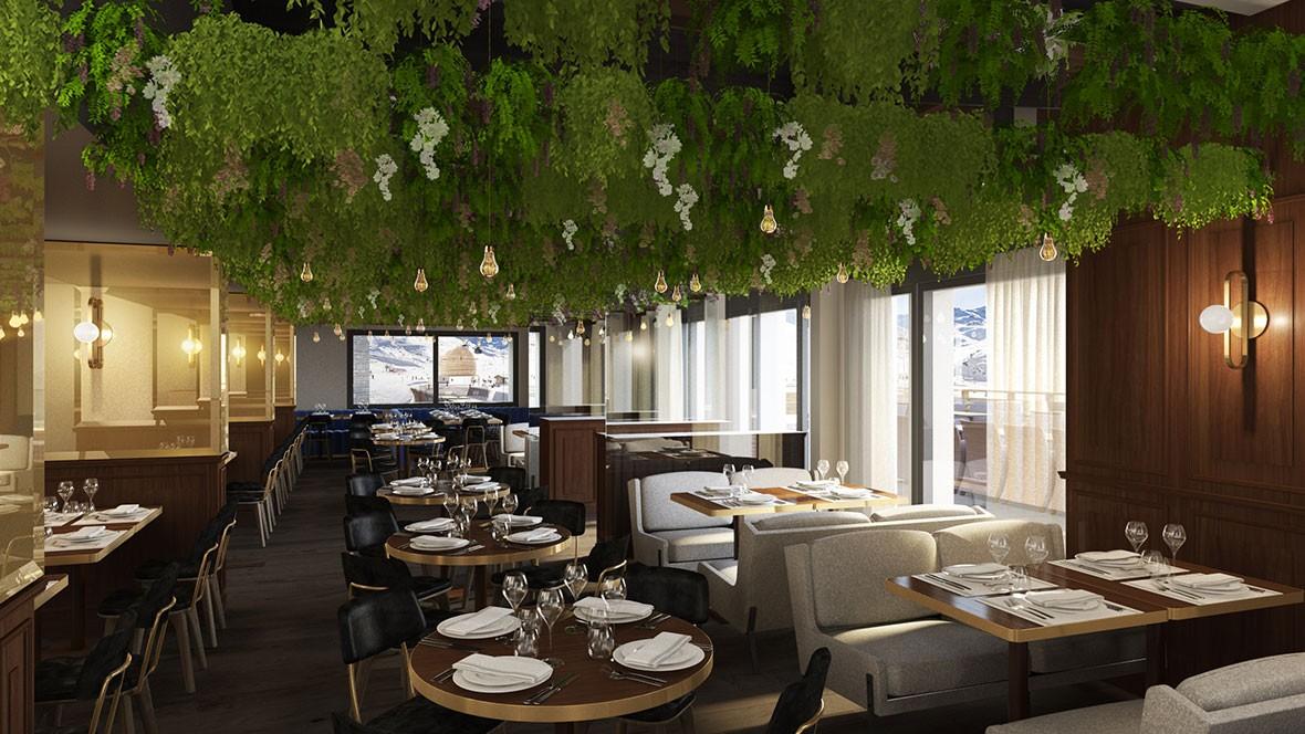 hotel-marielle-val-thorens-restaurant