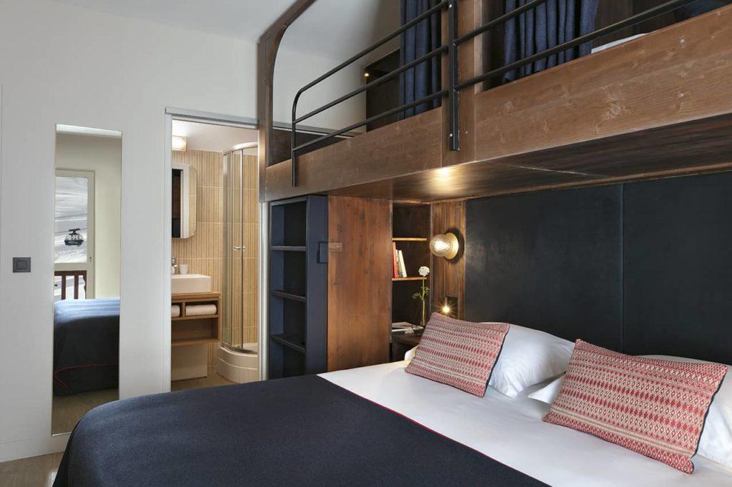 Hôtel Marielle - Chambre Classique 2A+2E (1) - BD