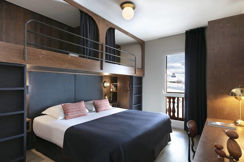 Hôtel Marielle - Chambre Classique 2A+2E (2) - BD