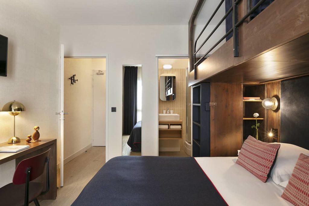 Hôtel Marielle - Chambre Classique 2A+2E (5) - BD