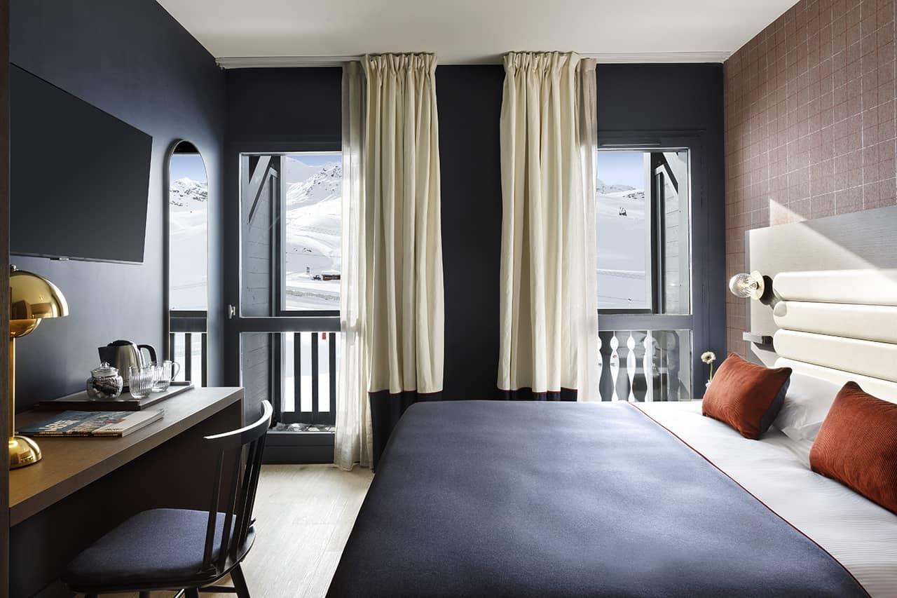 visuel chambres Hotel Marielle Val Thorens