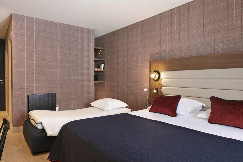 Hôtel Marielle - Chambre Supérieure 2A+1E - BD