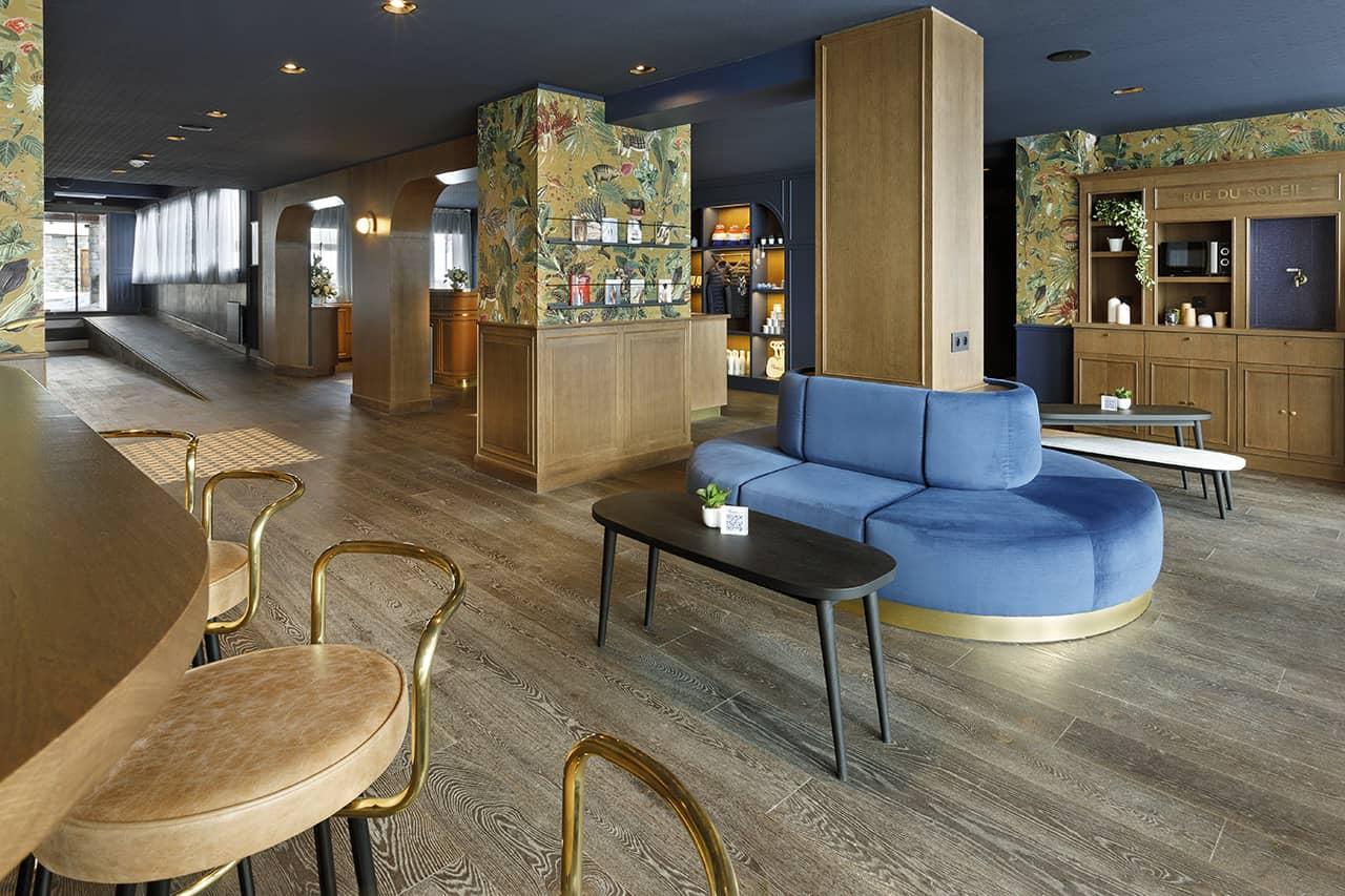 Hotel Marielle Val Thorens espace lobby