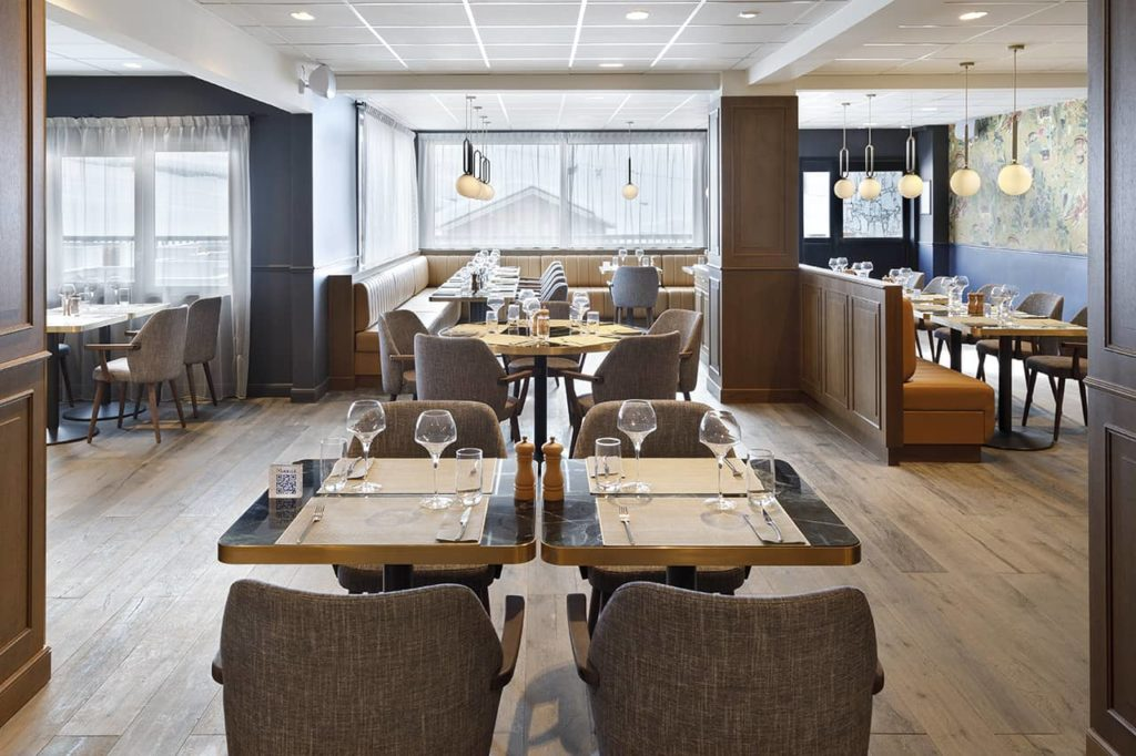 Hôtel Marielle - Restaurant (1) - BD