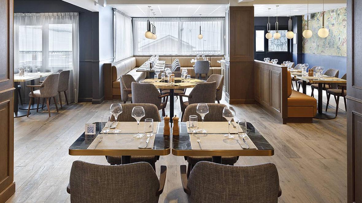 Hôtel Marielle Val Thorens Spa Nuxe restaurant