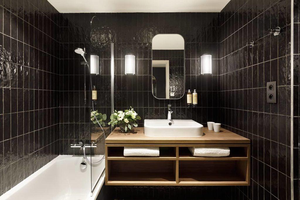 Hôtel Marielle - Salle de bain (2) - BD