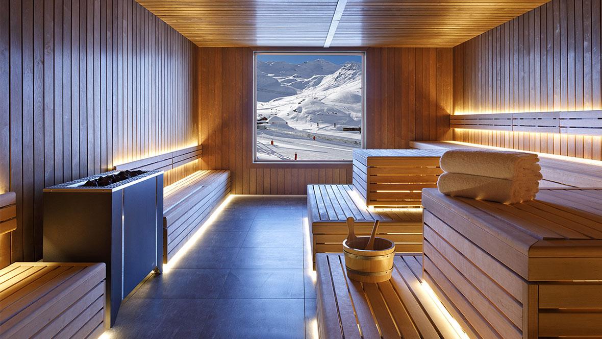 Hôtel Marielle Val Thorens Spa Nuxe sauna