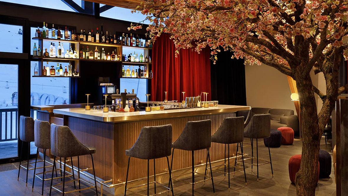 Hôtel Marielle Val Thorens Spa Nuxe bar