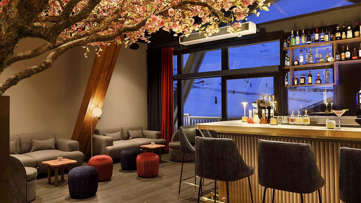 Hôtel Marielle Val Thorens Spa Nuxe bar service