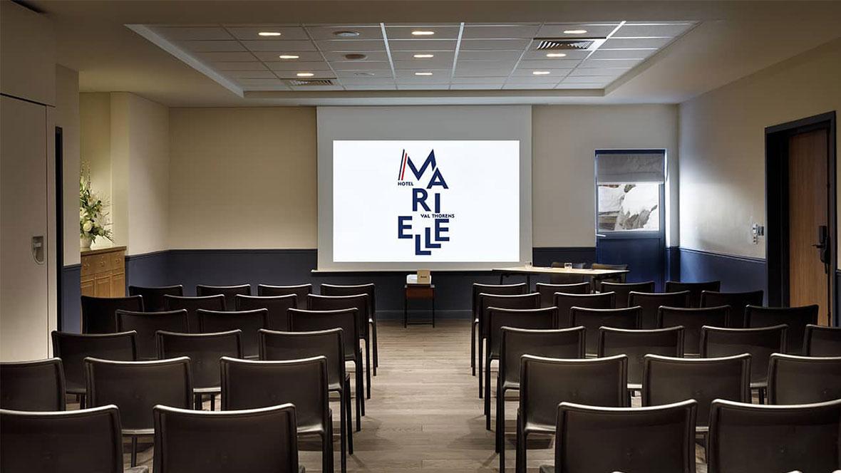 Hôtel Marielle Val Thorens Spa Nuxe salle de séminaire organisation business