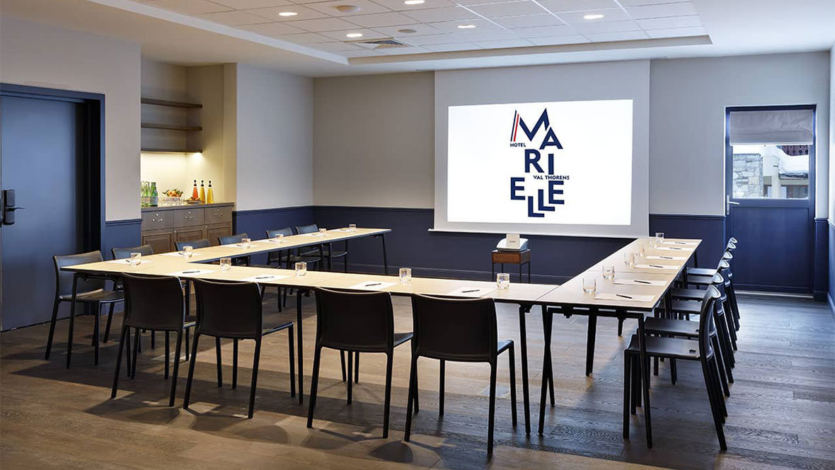 Hôtel Marielle Val Thorens Spa Nuxe salles de réunions